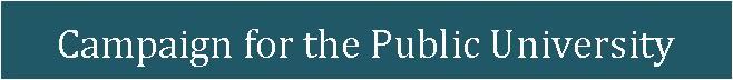 UK Campaign for the Public University