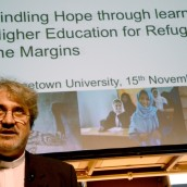 Higher education's role in assisting refugee communities:  Lessons from History