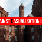 Fighting Against Casualisation in Education